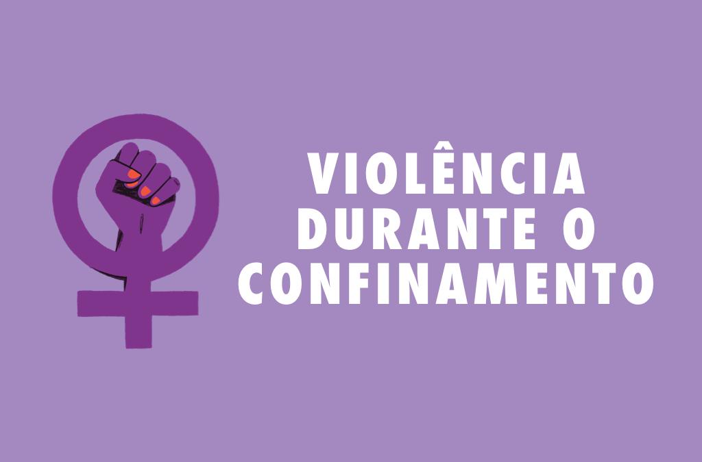 Apoio a pessoas afetadas pela violência durante o confinamento