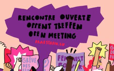 Rencontre ouverte: Menstruations & travail, parlons-en!